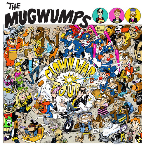 Mugwumps- Clown War Four LP ~HEAD!