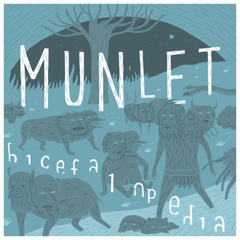 Munlet- Bicefalopedia LP ~300 COPIES PRESSED! - Ghost Highway - Dead Beat Records
