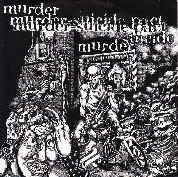 Murder-Suicide Pact- S/T CD - Burrito - Dead Beat Records