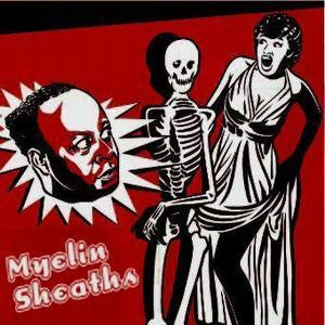 MYELIN SHEATHS- 'S/T' CDr - Mammoth Cave - Dead Beat Records