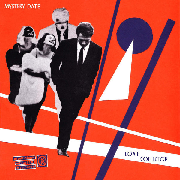 Mystery Date- Love Collector LP ~WHITE ORANGE PURPLE SPLAT WAX! - Collision Course - Dead Beat Records - 1