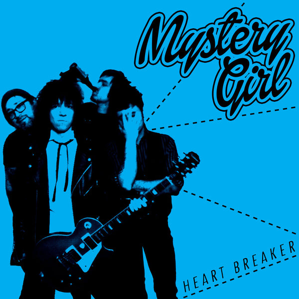 "Mystery Girl - Heart Breaker 7"" ~SPEEDIES / RARE OPAQUE BLUE WAX!"