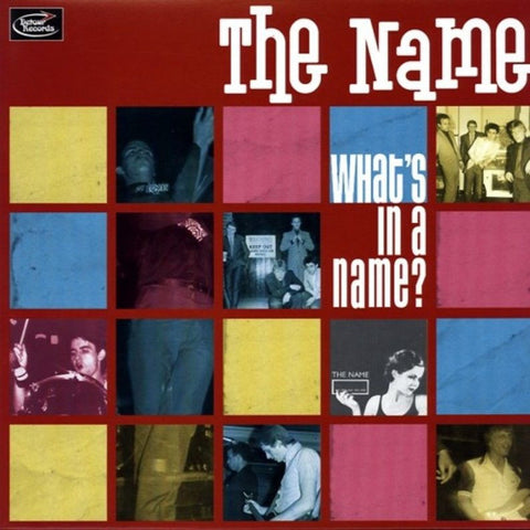 The Name- What's In A Name LP ~REISSUE! - Detour - Dead Beat Records