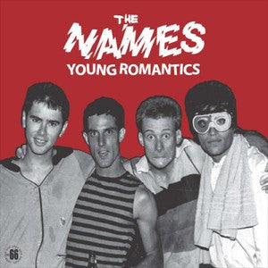 NAMES- Young Romantics LP ~REISSUE! - Rave Up - Dead Beat Records