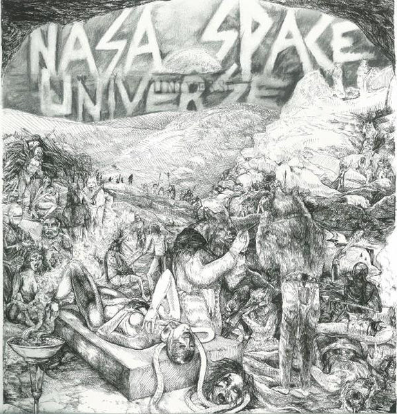 "NASA SPACE UNIVERSE-S/T 7"" - Shakin - Dead Beat Records"