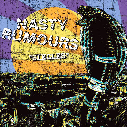Nasty Rumours- Singles LP ~RARE ALTERNATE COVER ART AND WHITE WAX!