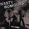 "Nasty Rumours- All Alone 7"" ~RARE TEST PRESS LTD TO 10! - NO FRONT TEETH - Dead Beat Records"