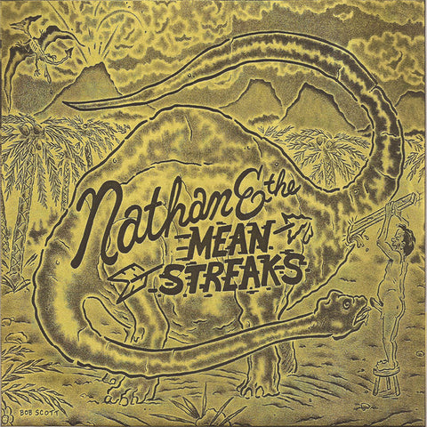 "Nathan & The Mean Streaks- Childstar Redemption 7"" ~CVR LTD TO 83 COPIES! - Goodbye Boozy - Dead Beat Records"