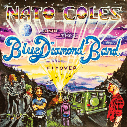 Nato Coles & The Blue Diamond Band - Flyover CD ~KILLER!