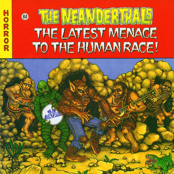 Neanderthals- Latest Menace To The Human Race CD ~EX LOS STRAIGHTJACKETS!