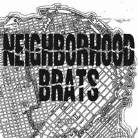 Neighborhood Brats – S/T LP ~EX NEO CONS/CUTE LEPERS - Modern Action - Dead Beat Records