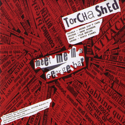 "Torcha Shed / Neon Maniacs - Split 7"" ~COCK SPARRER!"