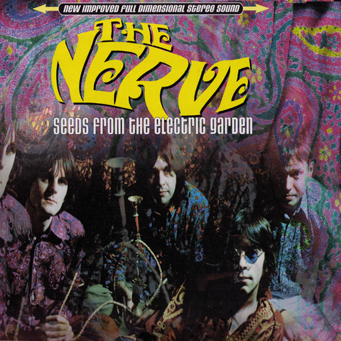 The Nerve- Seeds From The Electric Garden LP ~RARE SPEARMINT GREEN WAX!