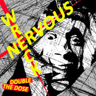 "Nervous Wrecks- Double The Dose 7"" - NO FRONT TEETH - Dead Beat Records"