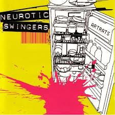 Neurotic Swingers- Artrats CD - Lollipop - Dead Beat Records