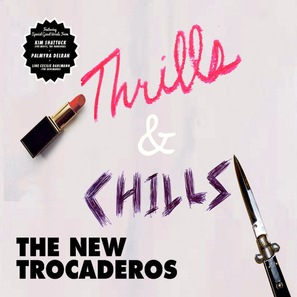 New Trocaderos-  Thrills And Chills CD ~EX CONNECTION / KURT BAKER! - Uncle Mike's RnR - Dead Beat Records