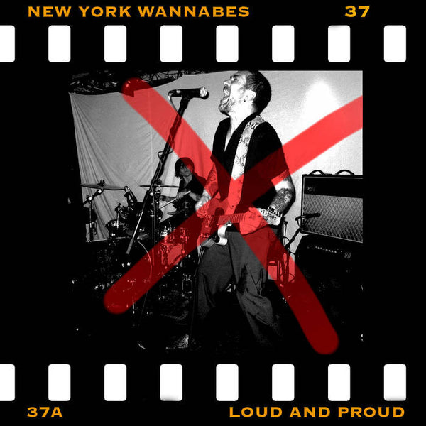 New York Wannabes- Loud And Proud LP ~CRAMPS! - Ptrash - Dead Beat Records