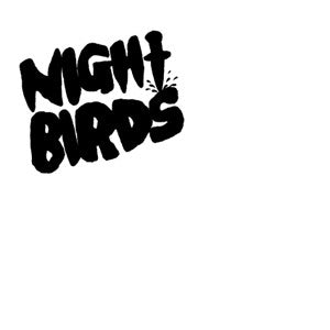 "Night Birds - S/T 7"" ~EX ERGS - Grave Mistake - Dead Beat Records"