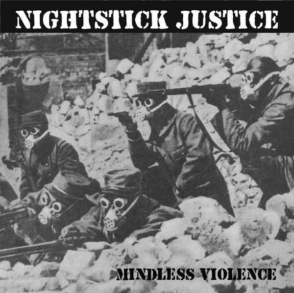 "Nightstick Justice- Mindless Violence 7"" - Even Worse - Dead Beat Records"