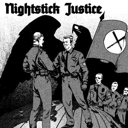 Nightstick Justice- S/T LP ~THE FIX! - Even Worse - Dead Beat Records
