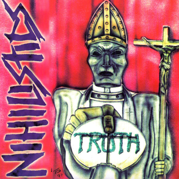"Nihislistics- Truth 7"" - Transparent - Dead Beat Records"