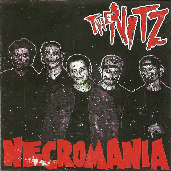 The Nitz- Necromania CD ~ZEKE! - Reptilian - Dead Beat Records