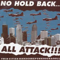 V/A- No Hold Back...All Attack!! (Twin Cities Hardcore) 3x LP - Havoc - Dead Beat Records