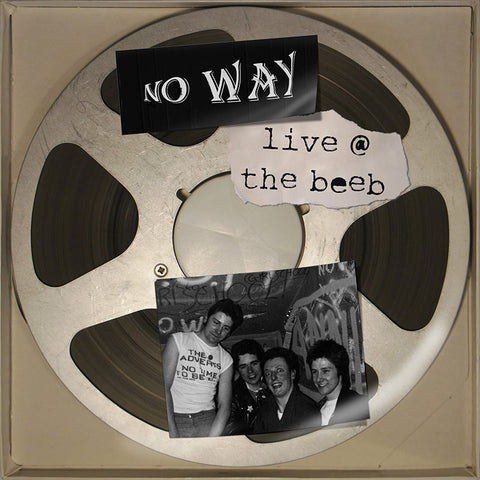 No Way- Live At The Beeb LP ~REISSUE!