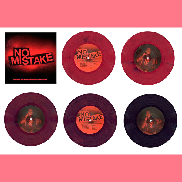 "No Mistake- Connect The Dots 7"" ~EX GO! / PERMANENT RUIN!"