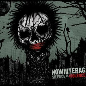 No White Rag- Silence Is Violence LP ~GATEFOLD COVER! - Pure Punk - Dead Beat Records - 2