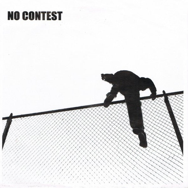"No Contest- S/T 7"" ~REISSUE / RARE FIRST PRESSING WITH DIFFERENT COVER!"