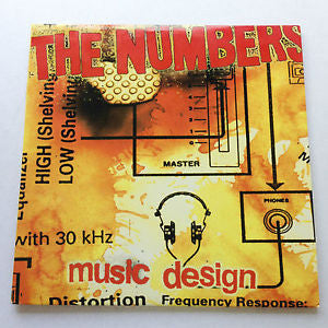 "The Numbers- Music Design 10"" ~EX THE PEGS! - Dead Beat - Dead Beat Records"