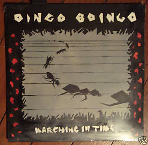 OINGO BOINGO- 'Marching In Time' LP - Polyrhym - Dead Beat Records