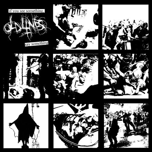 "Old Lines- If You See Something 7"" ~EX PULLING TEETH! - Reptilian - Dead Beat Records"