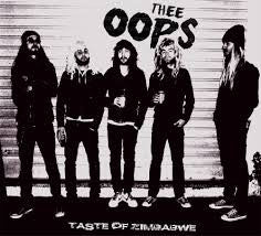 Thee Oops- Taste of Zimbabwe LP ~EX RIPPERS - Slovenly - Dead Beat Records