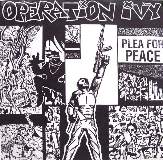 "Operation Ivy- Plea For Peace 7"" - Unknown - Dead Beat Records"