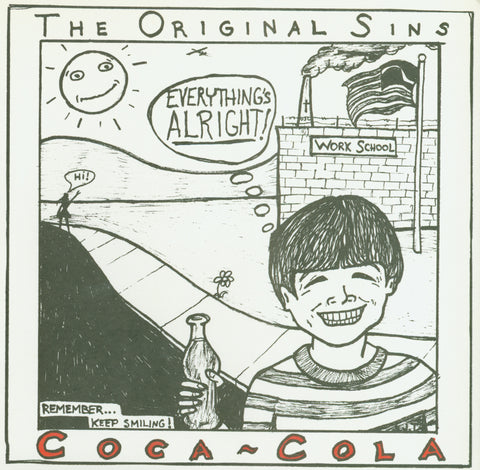 "Original Sins- Coca Cola 7"" ~THE LYRES! - Get Hip - Dead Beat Records"