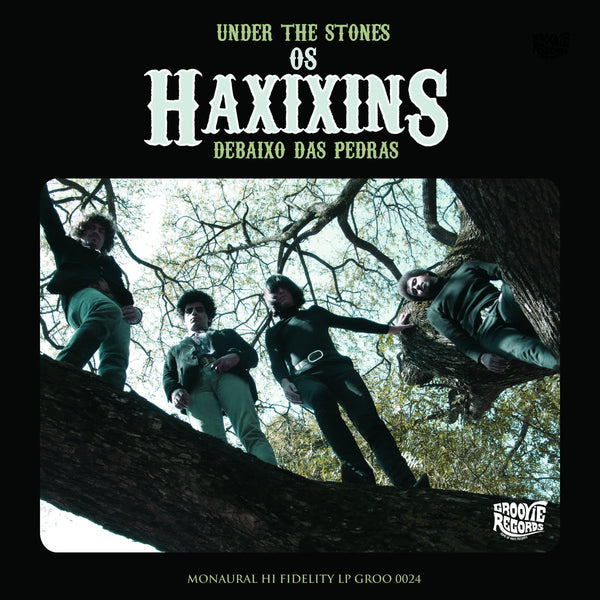 Os Haxixins- Under The Stones LP - Groovie - Dead Beat Records