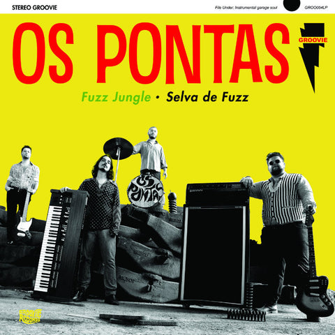 Os Pontas-  Fuzz Jungle LP ~GROOVIE RECORDS!