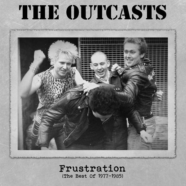 The Outcasts- Frustration LP ~WHITE WAX LTD TO 200 COPIES! - Wanda - Dead Beat Records
