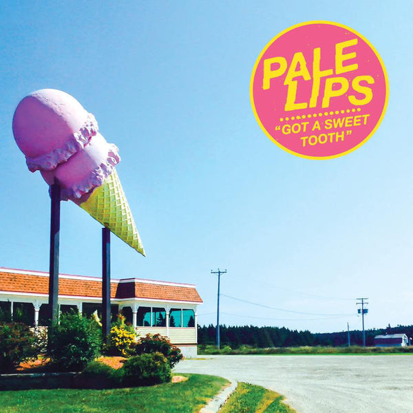 "Pale Lips- Got A Sweet Tooth 7"" ~COVER LTD TO 200! - NO FRONT TEETH - Dead Beat Records"