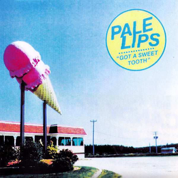 "Pale Lips- Got A Sweet Tooth 7"" ~ALT COVER LTD TO 100! - NO FRONT TEETH - Dead Beat Records"