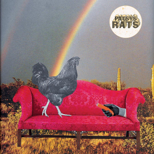 "Patsy's Rats- Rounding Up 7"" ~EX MEAN JEANS / RARE WHITE WAX LTD TO 200!"