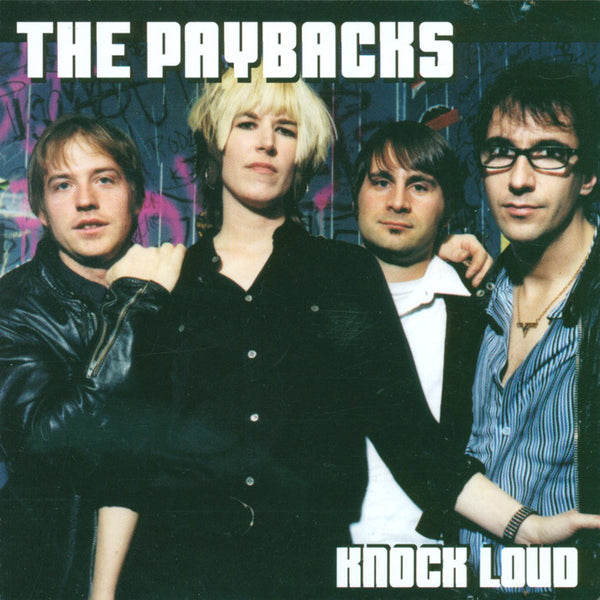 Paybacks- Knock Loud CD ~RUNAWAYS!