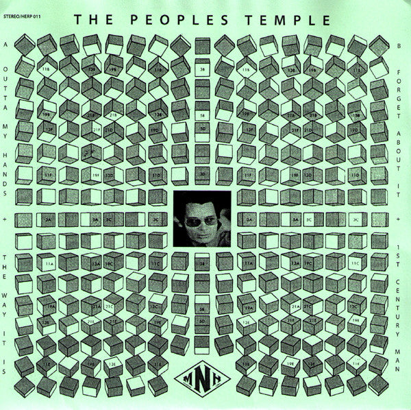 "Peoples Temple- S/T 7"" ~KILLER - Milk N Herpes - Dead Beat Records"