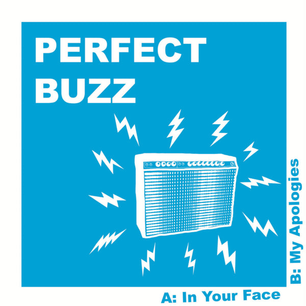 "Perfect Buzz- In Your Face 7"" ~EX SUICIDE NOTES / PURE COUNTRY GOLD!"