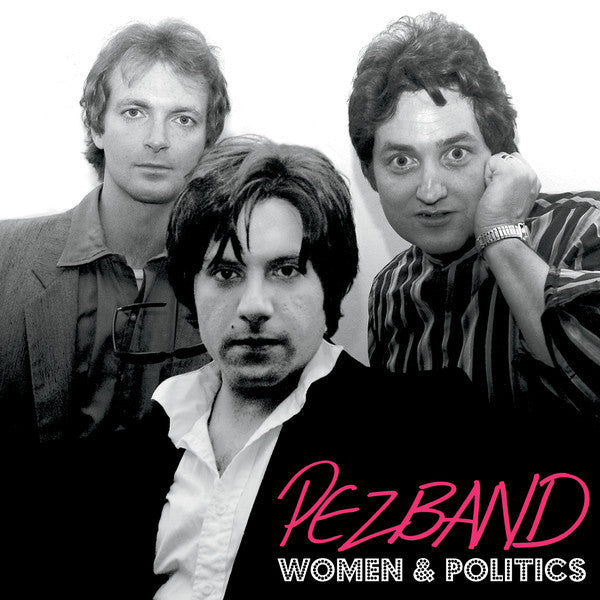 Pezband- Women & Politics LP ~THE KIND! - Frodis - Dead Beat Records