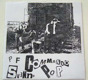 "PF Commando- Svenne Pop 7"" ~REISSUE! - Ken Rock - Dead Beat Records"