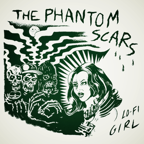 "Phantom Scars- Lo Fi Girl 7"" ~CLEAR WAX LTD TO 100! - Manglor - Dead Beat Records"
