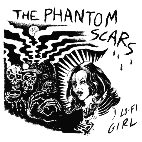 "Phantom Scars- Lo Fi Girl 7"" ~THE MUMMIES! - Manglor - Dead Beat Records"